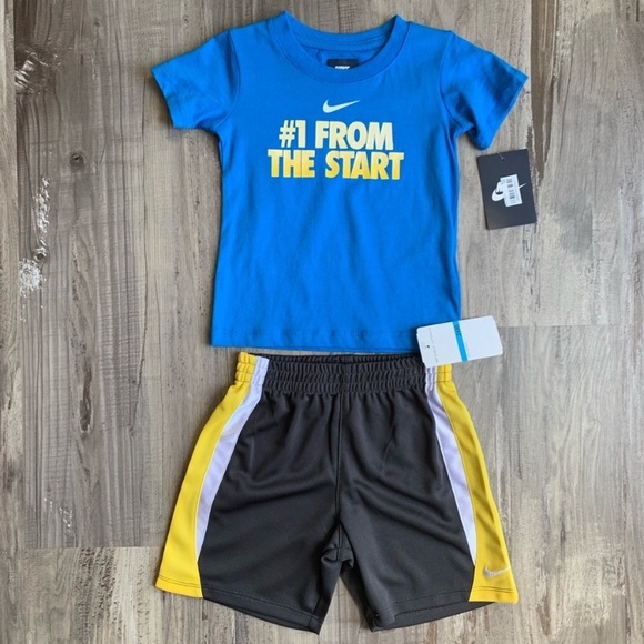 42d31071b87d Nike Matching Sets   New 24m Baby Boys Tee Shorts Matching Outfit ...